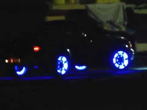 Luz De Led En Rines Audiocar Alex Youtube