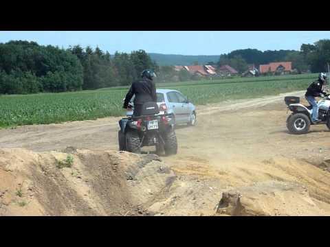 QUAD / ATV /  KYMCO  MXU  500 DX  12 JUNI  2011 OFFROAD