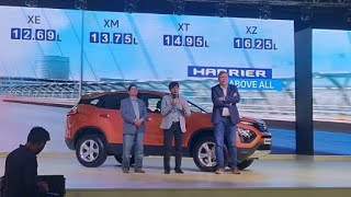 LIVE | Tata Harrier India Launch - Price, Variants, Features and All the Details