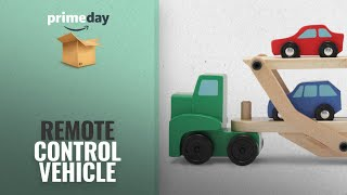 Save Big On Remote Control Vehicle Toys | Prime Day 2018: Melissa & Doug Car Carrier Truck and Cars