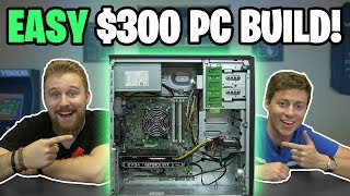 $300 GAMING PC - EASY to BUILD 2019