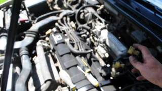 3rd Gen Prelude fuel injector seal leak