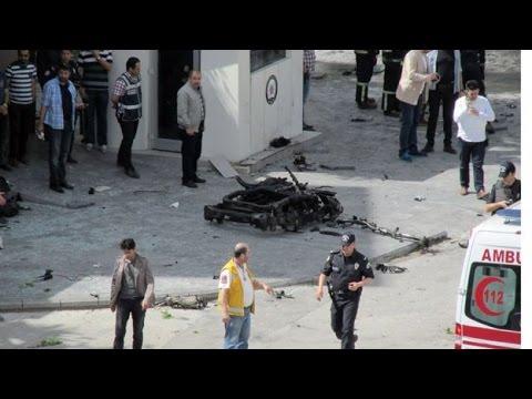 Turkey: Explosion rocks Gaziantep police headquarters