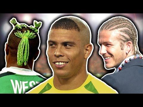 50 Worst Footballers' Haircuts | Ronaldo, Beckham & Neymar!