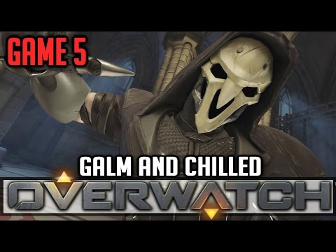Overwatch Competitive Play w/ GaLm and Chilled (Game 5)