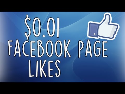 $0.01 Facebook Page Likes OCT 2015 with Facebook Ads Power Editor Tutorial