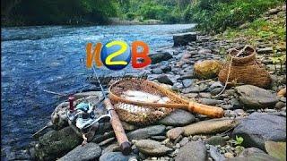 Đam mê câu cá  Câu suối cá nhiều dã man - Câu cá suối trong hang  ( Phần2 )