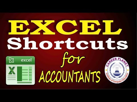 Excel Shortcuts – Excel for Accountants Part-1 (Hindi)|Learn Microsoft Excel Tricks and Shortcuts