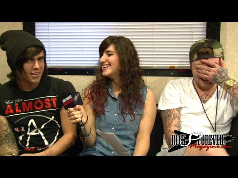 Sleeping With Sirens Interview #2 With Rock Forever Magazine