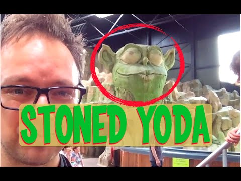 Toverland Theme Park, Netherlands (Roller coasters, Theming, and Stoned Yoda)