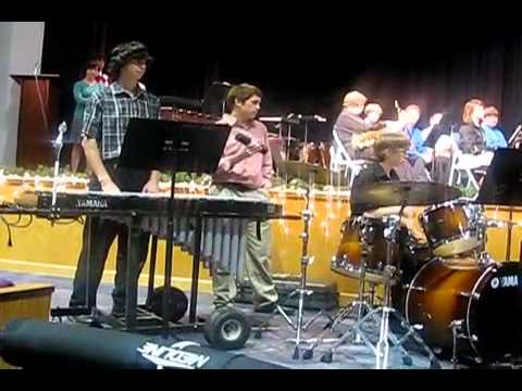 Jeremy Copple on Vibraphone - Jazz Band