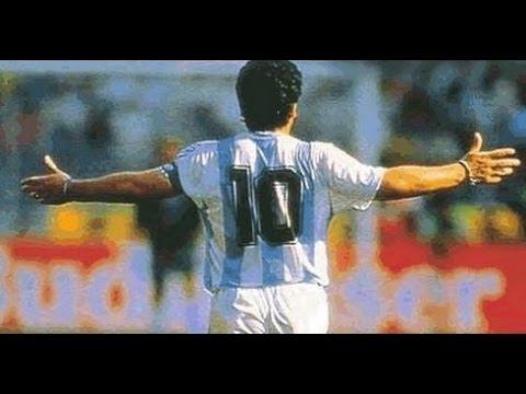 Video inédito de Maradona