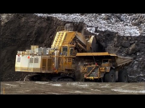 Суперсооружения: Машины для добычи алмазов