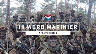 SLAPEN IN HET BOS | IK WORD MARINIER #3