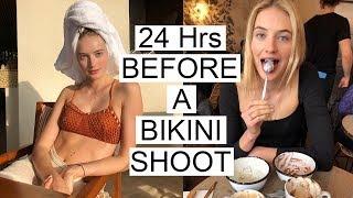 24 Hrs Before a Bikini Shoot | What I Eat, How I Train, & My Body Prep | Sanne Vloet