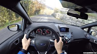 2017 Ford Fiesta ST200 POV Drive on Winding Roads - Lovely Engine Sound