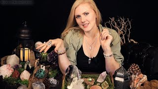 🔮 Tingly Crystal Shop 🔮 ASMR ♦ Soft Spoken ♦ Crinkle Shirt