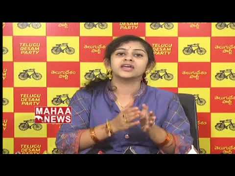 TDP Leader Sadineni Yamini Shocking Comments On PM Modi | Mahaa News