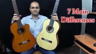 Guitar 106 - Flamenco Guitar vs Classical Guitar بالعربية (Dr. ANTF)