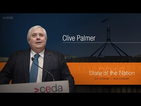 State of the Nation 2015 - Clive Palmer presentation