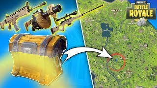Fortnite - BEST SPAWN FOR EPIC & LEGENDARY LOOT! Solo, Duo Or Teams!