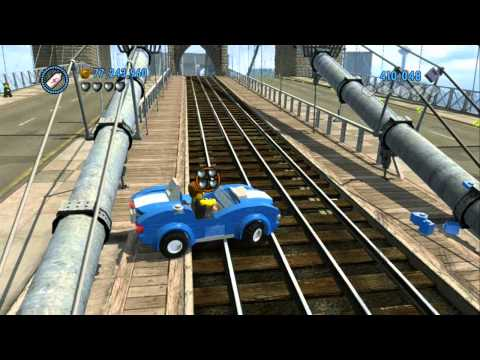 LEGO City Undercover - All 13 Vehicle Robberies Completed