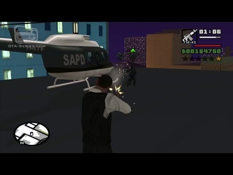 GTA San Andreas Walkthrough - Mission #91 - Breaking the Bank at Caligula's [Alternative] (HD)