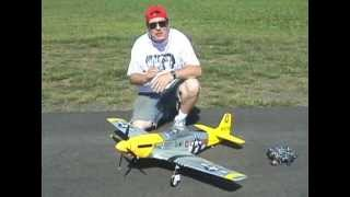 THE FMS P-51 MUSTANG V2 CRASHES AND FLIES WITH KILLER PLANES CRASHPROOFING