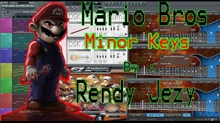 Mario Bros - Minor Keys - Scale Japanese By Rendy Jezy