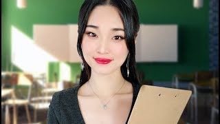 [ASMR] Teacher Roleplay - Learn Chinese Phrases