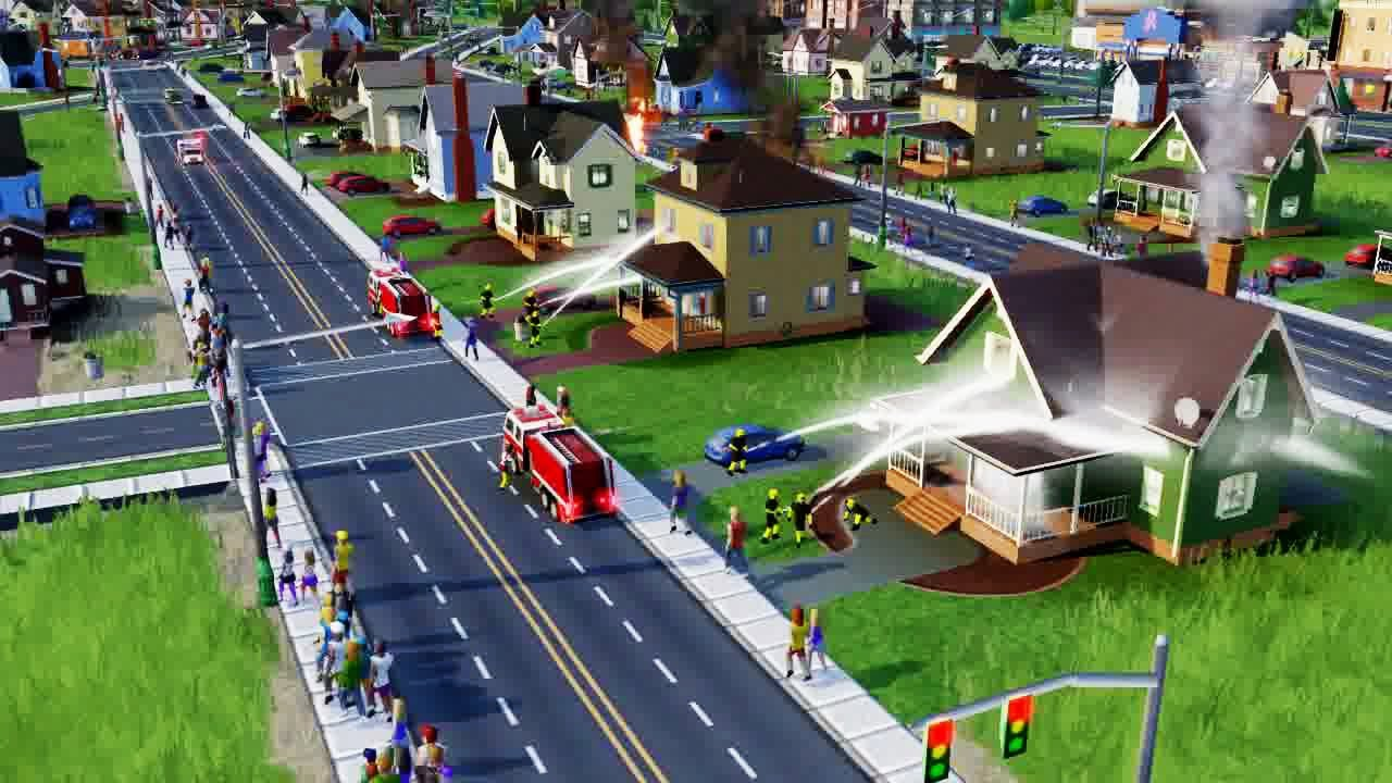 SimCity Disaster Trailer - YouTube