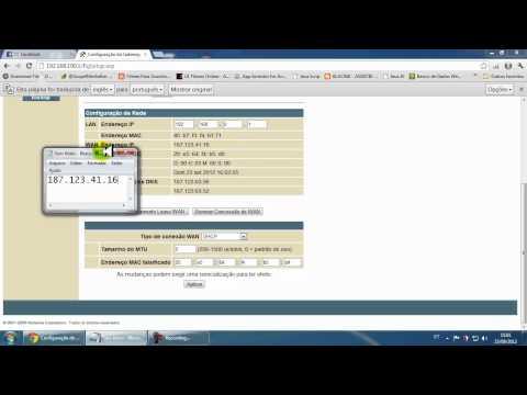 Mudando IP NETVIRTUA