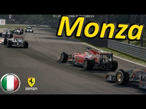 F1 2014 Gameplay Monza 100% Race Italy: Fernando Alonso
