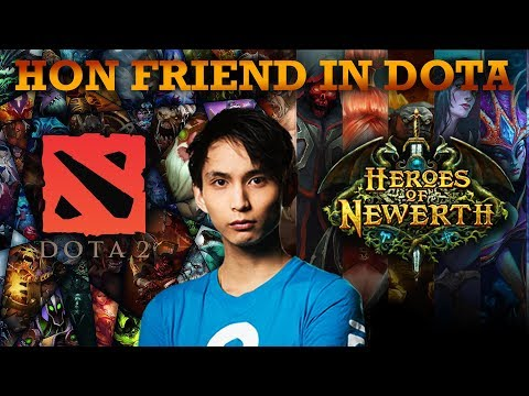 MEETING HON FRIEND IN DOTA (SingSing Dota 2 Highlights #1080)