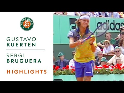 Gustavo Kuerten v Sergi Bruguera Highlights - Men's Final I Roland-Garros 1997
