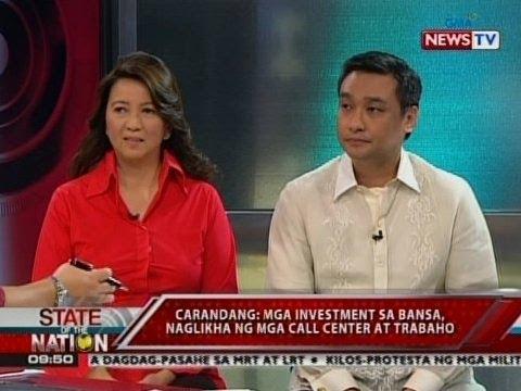 SONA: Panayam kay Sec. Ricky Carandang at Dating Rep. Mitos Magsaysay