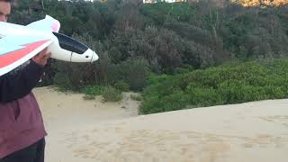RC plane crash - I found this funny video footage on my camera!