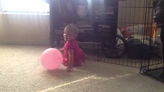 Ella and the balloon