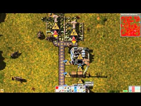 Factorio: Living With Biters Ep#61: Pesky Stone And Power Storage