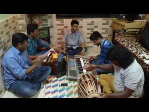 Mauli Mauli Cover Practice session by Ajay Atul fanatics