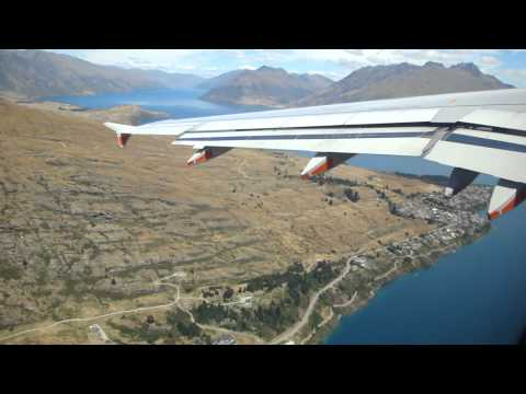 Jetstar Queenstown Airport Take off