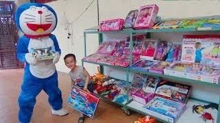 Trò Chơi Doremon và bé Đức đi mua đồ chơi trẻ em ^-^ Nhạc Thiếu Nhi vui