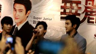[FANCAM] 120216 skipbeat fanmeet 1/6 (intro)