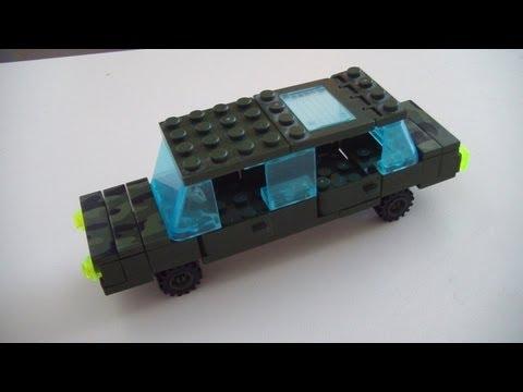 Делаем автомобиль генерала из lego