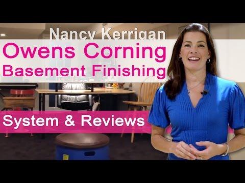 basement finishing system owens corning paintable wall panels how