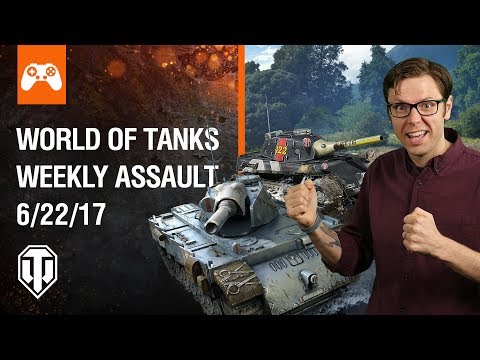 World of Tanks Weekly Assault #9