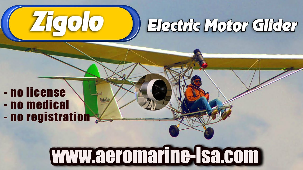 Zigolo Mg 12 Electric Ultralight Motorglider Available