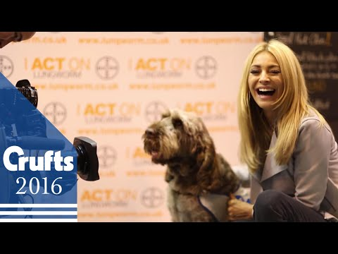 Tess Daly Is Helping Raise Lungworm Awareness | Crufts 2016