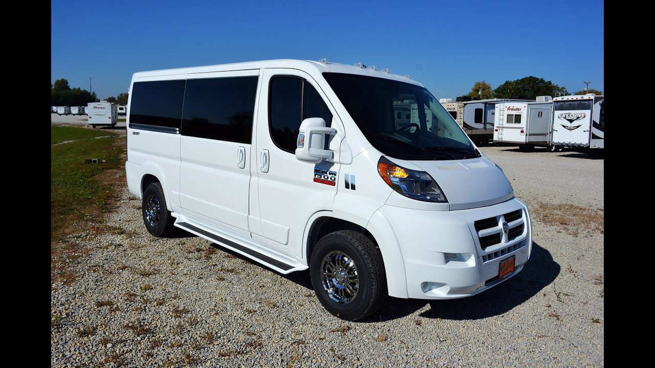 2014 Ram Promaster 7 Passenger Low Top Conversion Van By