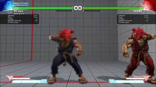 Street Fighter V Mysterious Mod V2 r7 - Akuma Changelist Demonstration (Download in Description)